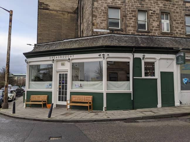 The Dreadnought pub in Edinburgh. Credit: SWNS