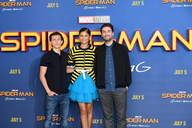 Tom Holand And Zendaya at the Spider-Man: Homecoming event. Credit: PA