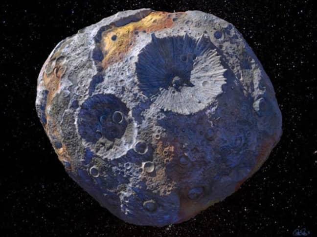 Here's a shot of Psyche 16. Credit: NASA