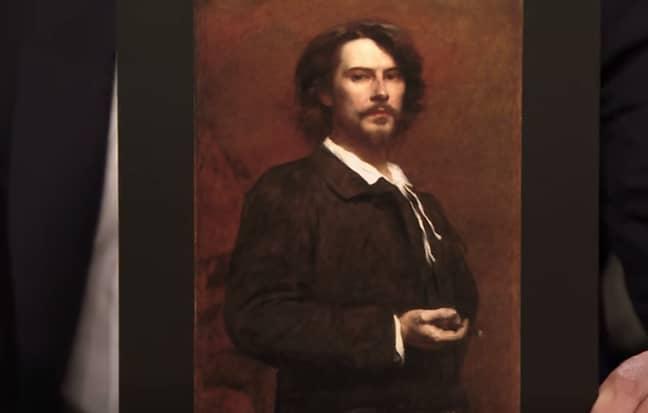 Old photo looking like Keanu Reeves