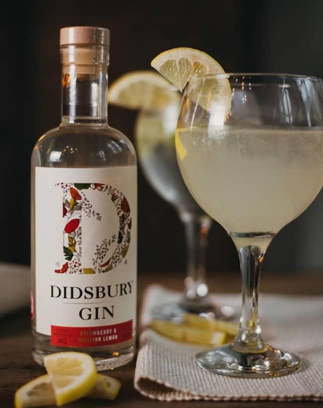 Didsbury Gin's Strawberry & Sicilian Lemon gin. Credit: Didsbury Gin/Instagram