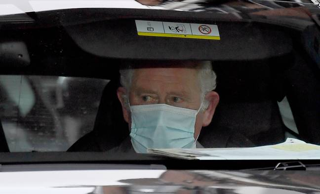 Prince Charles has left hospital after visiting his ill father Prince Philip. Credit: PA