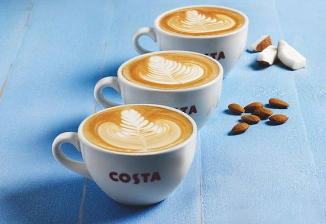 Credit: Costa Coffee