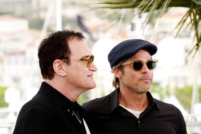 Tarantino worked with Brad Pitt on his latest film. Credit: PA