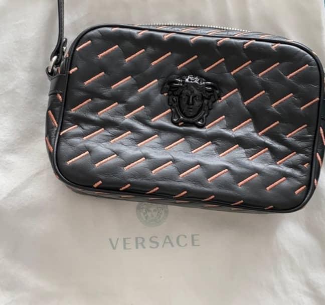 An example of a Versace product made from kangaroo skin. Credit: kikilake/Poshmark