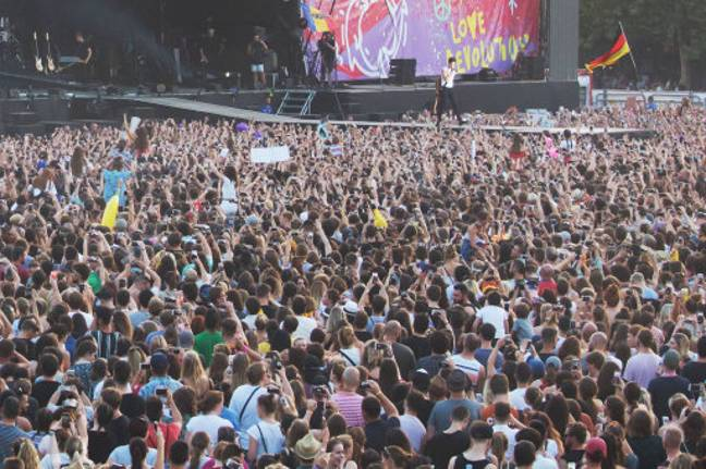 You could find yourself ferrying a millionaire around Sziget Festival in Budapest. Credit: PA