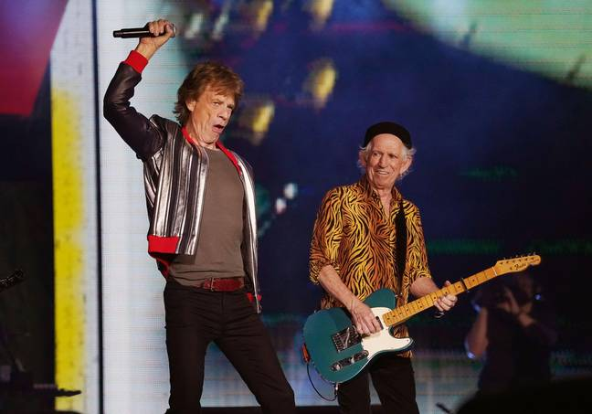 Jagger on the Rolling Stone's No Filter tour. Credit: Alamy