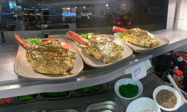 The steaks have proven popular. Credit: Solent News