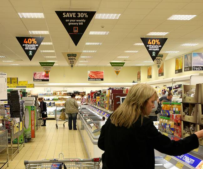 It seems you're best getting in early for bargain at Aldi. Credit: PA
