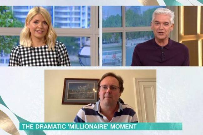 Townsley speaking to Holly and Phil on This Morning. Credit: ITV