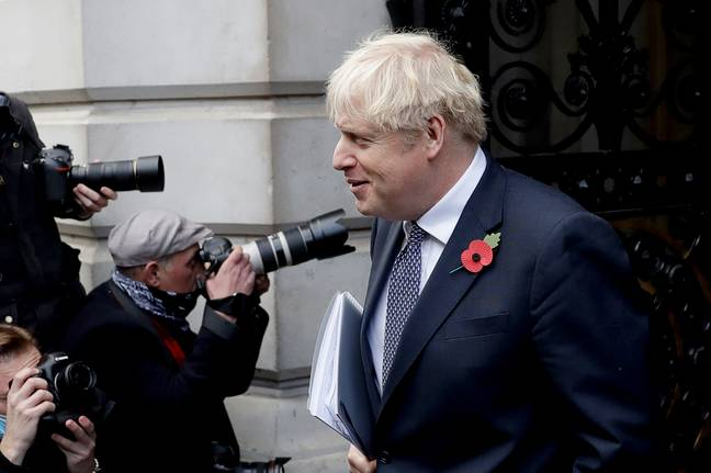 Johnson will discuss the Covid Winter Plan in parliament on Monday. Credit: PA