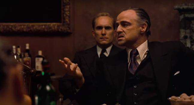 The Godfather. Credit: Paramount Pictures