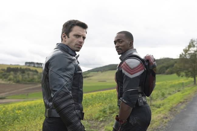 The new film could follow on from the end of Falcon and Winter Soldier. Credit: Disney+/Marvel