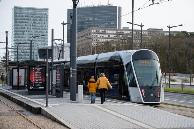 Luxembourg has seen 'positive' results since making public transport free. Credit: PA