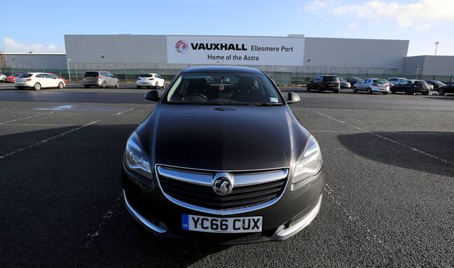 The Vauxhall Astra was second on the list. Credit: PA