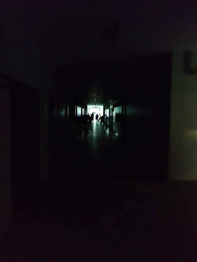 The hospital was without power for more than four hours. Credit: CEN