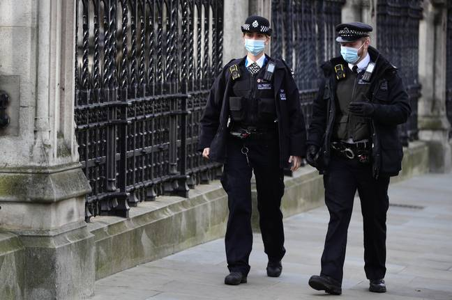 Police handed out two fines for the breaches of Covid rules. Credit: PA