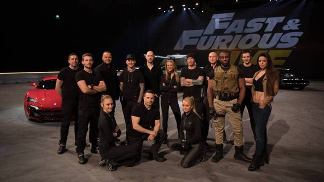 Fast and Furious Live kickstarted Hawkins' career. Credit: Fast and Furious Live