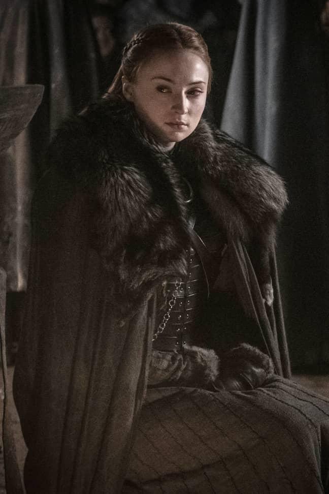 Sansa Stark, side-eye champ of the Seven Kingdoms. Credit: HBO