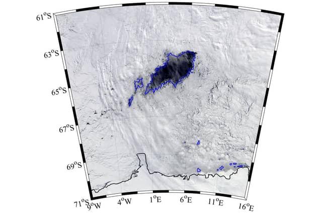 Hole in Antarctica
