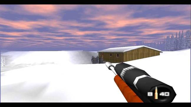 GoldenEye 007 has a globe trotting story which took in Monte Carlo and Saint Petersburg. Credit: Rare