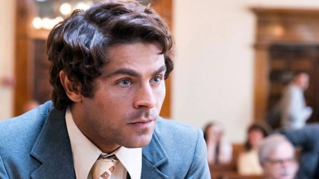 Zac Efron as Ted Bundy in the film. Credit: Voltage Pictures
