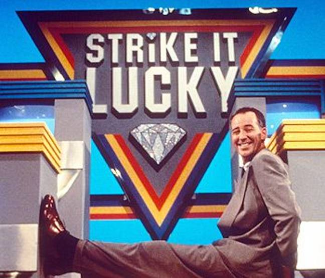 Michael Barrymore on Strike It Lucky. Credit: ITV