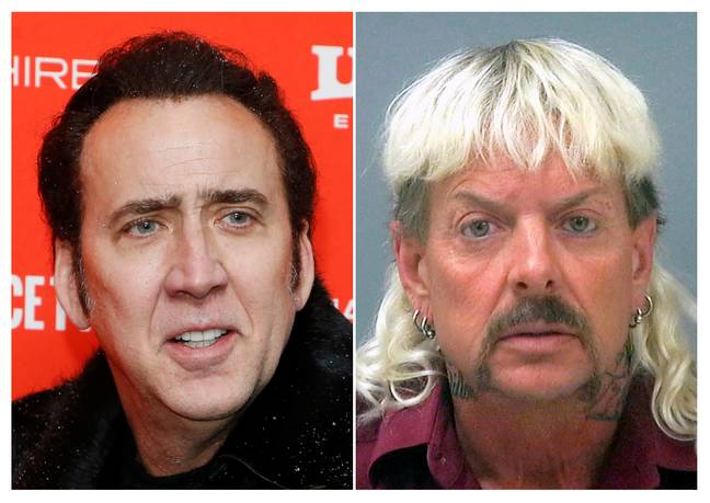 Nicolas Cage could be set to star as Joe Exotic. Credit: PA