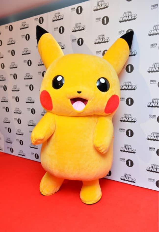 Pikachu at the BBC Radio 1 Teen Awards. He gets around. Credit: PA
