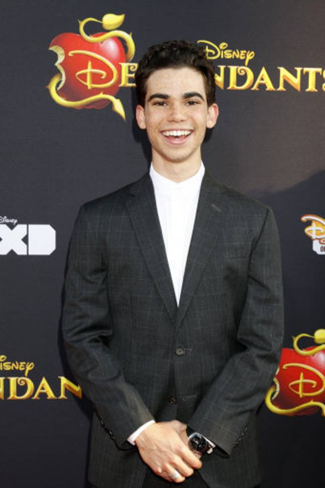 Cameron played Carlos in the Descendants. Credit: PA