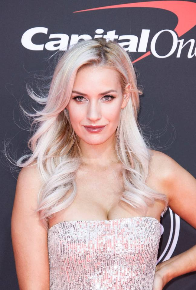 Paige Spiranac at the 2019 Excellence in Sports Performance Yearly Award. Credit: PA