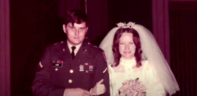 Cindy Brown and Bobby Joe Long got married in 1974 (Credit: Youtube/Crime Watch Daily)