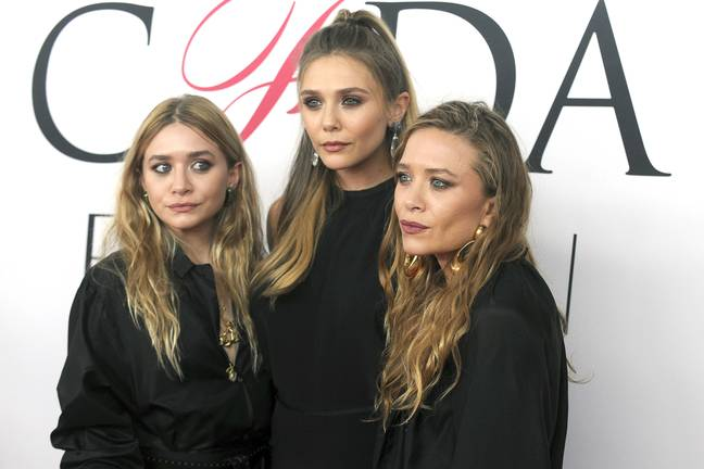 The Olsen sisters. Credit: PA