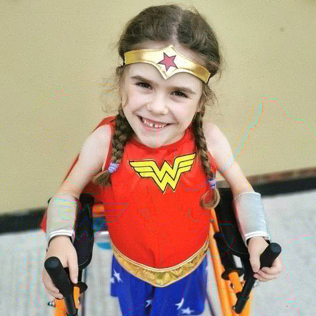 Carmela wants to raise as much as possible to fight her 'horrible disease'. Credit: Muscular Dystrophy UK