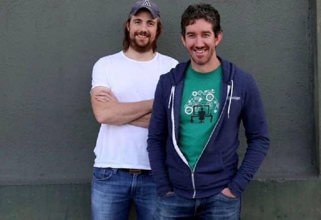 Mike Cannon-Brookes and Scott Farquhar met at university. Credit: Atlassian