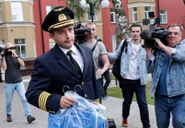 Captain Yusupov was hailed a hero in the aftermath of the crash. Credit: PA