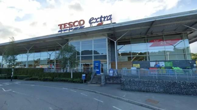 The Tesco in Bangor where the incident occurred. Credit: Google Maps