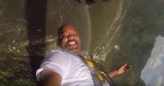 Will Smith looking like Uncle Phil
