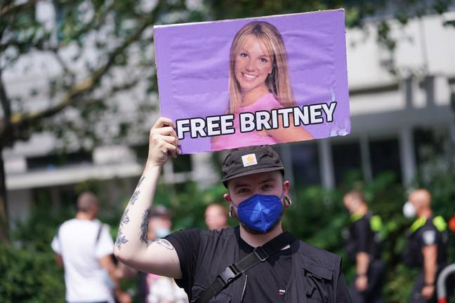 Fans have campaigned on behalf of Spears. Credit: PA