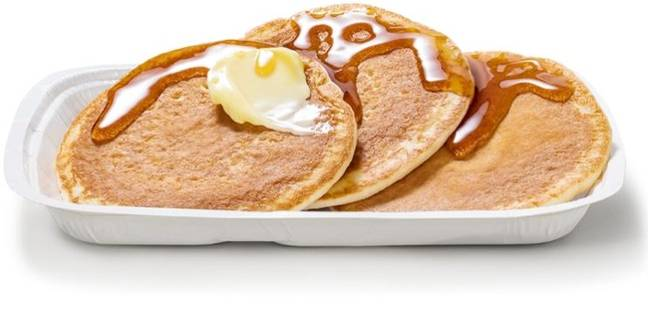 Maccies is keeping pancakes on the menu all day to celebrate Shrove Tuesday. Credit: McDonald's