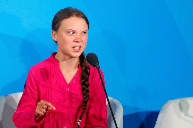 Greta Thunberg gave an impassioned speech at the United Nations Climate Summit. Credit: PA