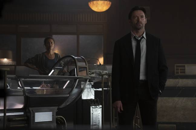 When not ripping Reynolds, Jackman has been working on new sci-fi movie Reminiscence. Credit: Warner Bros.