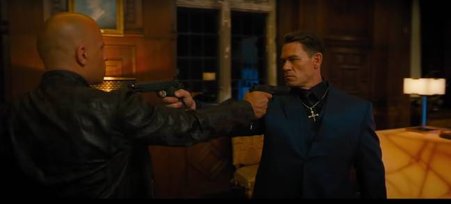 Toretto and his foresaken brother, Jakob, go head to head in F9 ' Credit:Youtube/Universal