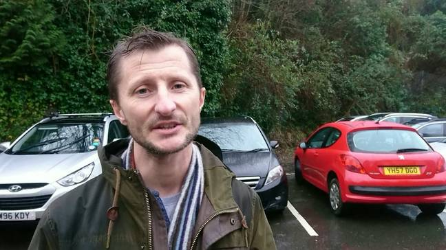 Tavistock resident Andy Coulson who is urging people to sign a online petition. Credit: SWNS