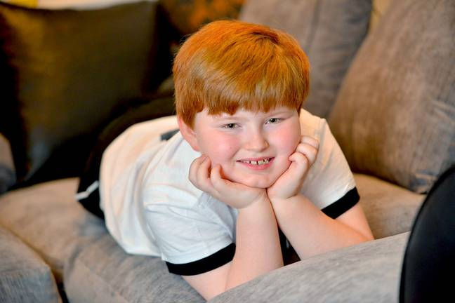 Ricky Gervais said that Thomas was 'a lovely little chap'. Credit: Caters