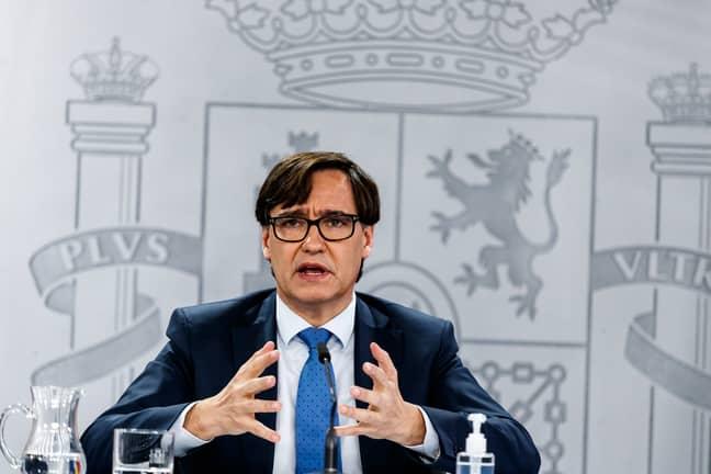 Spanish Health Minister Salvador Illa has welcomed the legislation. Credit: PA