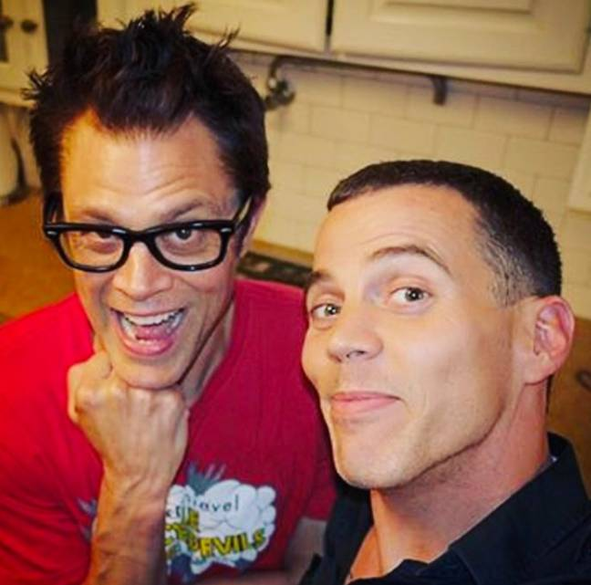 Steve-O and Johnny Knoxville.