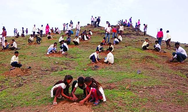 Millions of trees planted in India