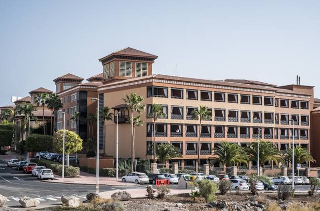 The H10 Costa Adeje Palace hotel in Tenerife. Credit: PA