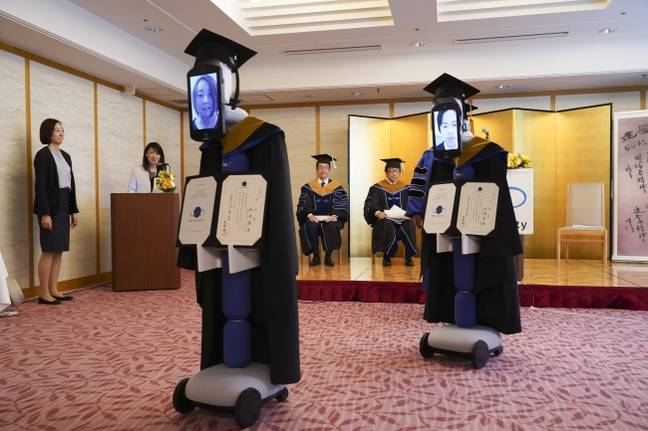 This is not how students envisaged their graduation day. Credit: BBT University